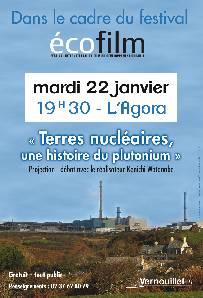 Festival écofilm : Terres nucléaires, une histoire du plutonium @ L'Agora, Vernouillet